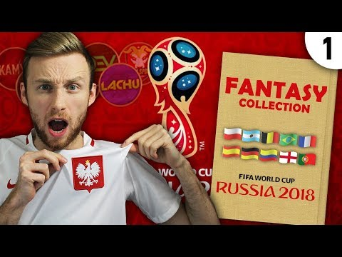 NOWA SERIA! FANTASY COLLECTION #1 | WORLD CUP 2018