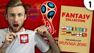 NOWA SERIA FANTASY COLLECTION 1  WORLD CUP 2018