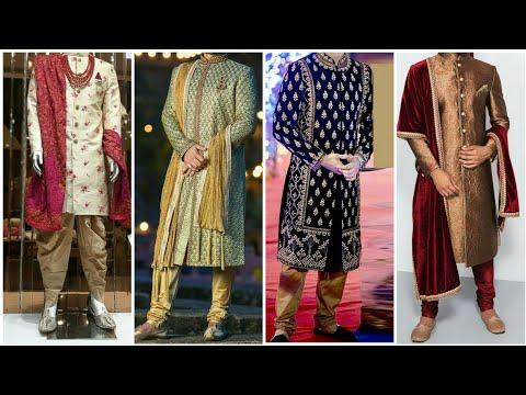 Latest Indian men's sherwani design || Indian designer boutique sherwani