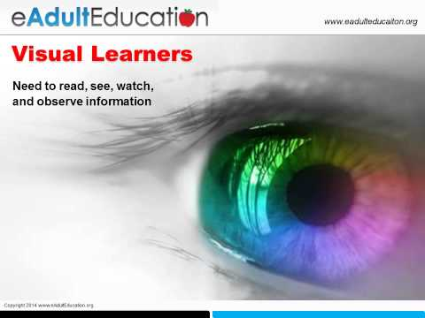 Adult Learning Style Preferences