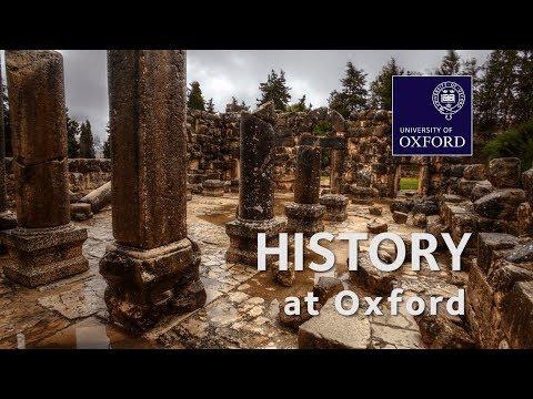 History at Oxford University
