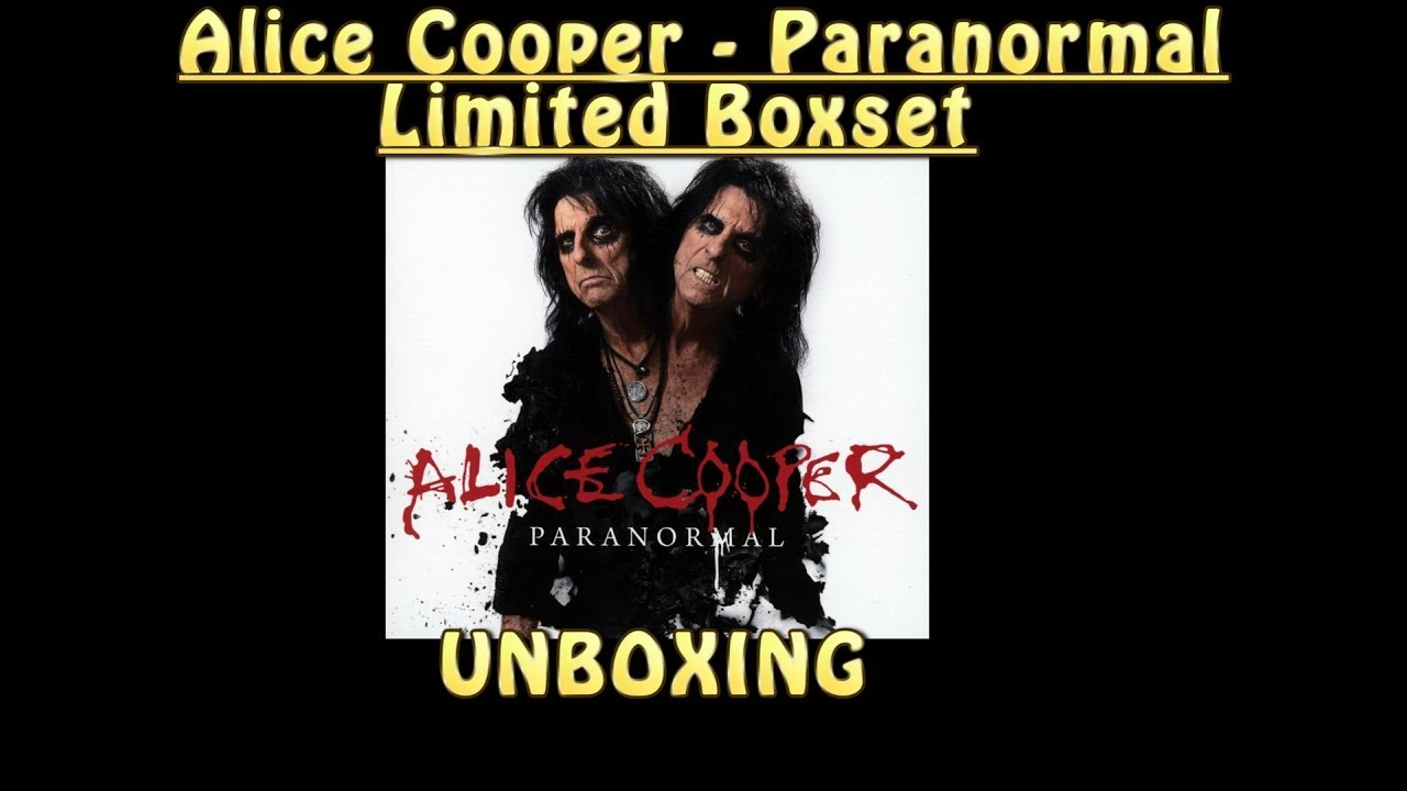 paranormal unboxing