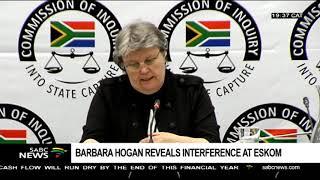 Barbara Hogan reveals interference at Eskom
