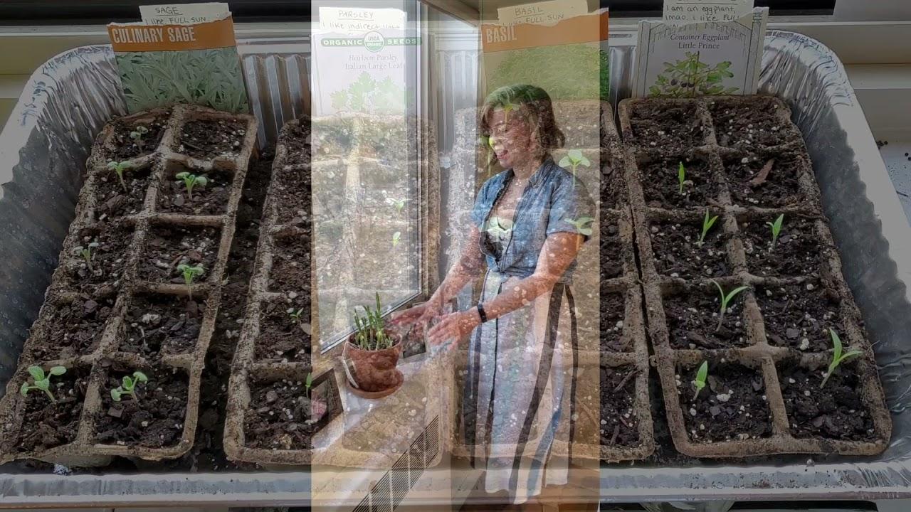 Julia the Gardener !