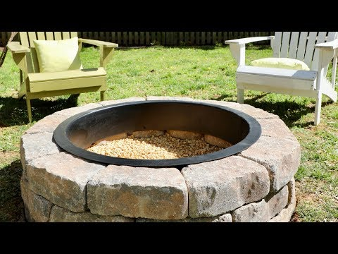 How to Build a DIY Fire Pit in Your Backyard – Thrift Diving