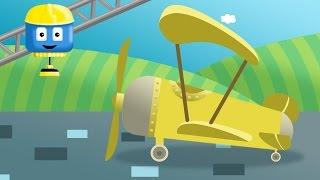 Samolot - Tom i Matt pojazdy budowlane| Kreskówki o budowaniu dla dzieci