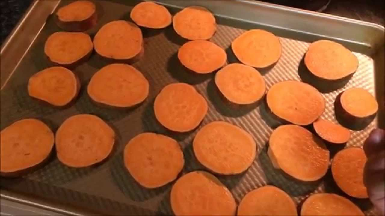 How To Roast Sweet Potato Rounds And Asparagus In The Oven  21 Day Fix  Approved  Youtube