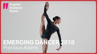 Precious Adams: Emerging Dancer 2018 Finalist | English National Ballet