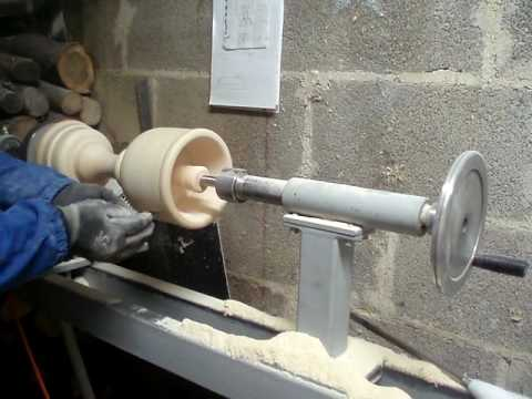 Tornio per legno tot parte 4 youtube for Tornio per legno con copiatore usato