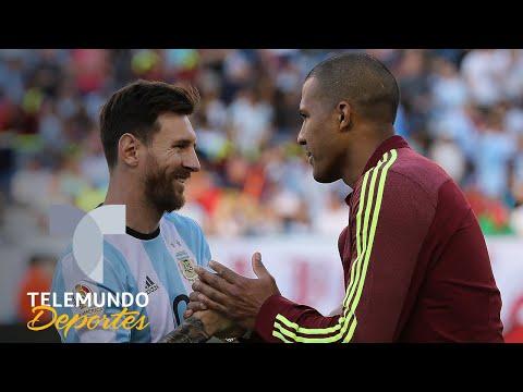 Venezuela contra Argentina pensando en la Copa América | Telemundo Deportes