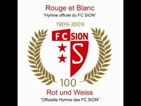 Hymne officiel du FC Sion - Rouge et Blanc