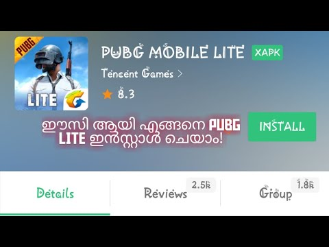 HOW TO DOWNLOAD PUBG LITE IN MALAYALAM #APKPURE