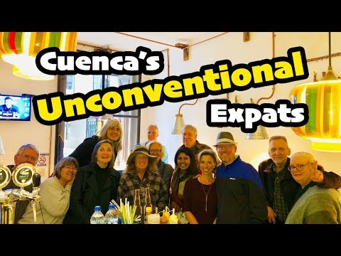 The Unconventional EXPATS Of Cuenca Ecuador (Day In The Life)