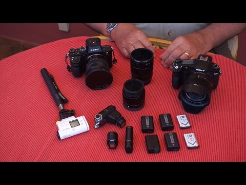 What's In My Bag - Bob Krist | Artisan of Imagery | Sony