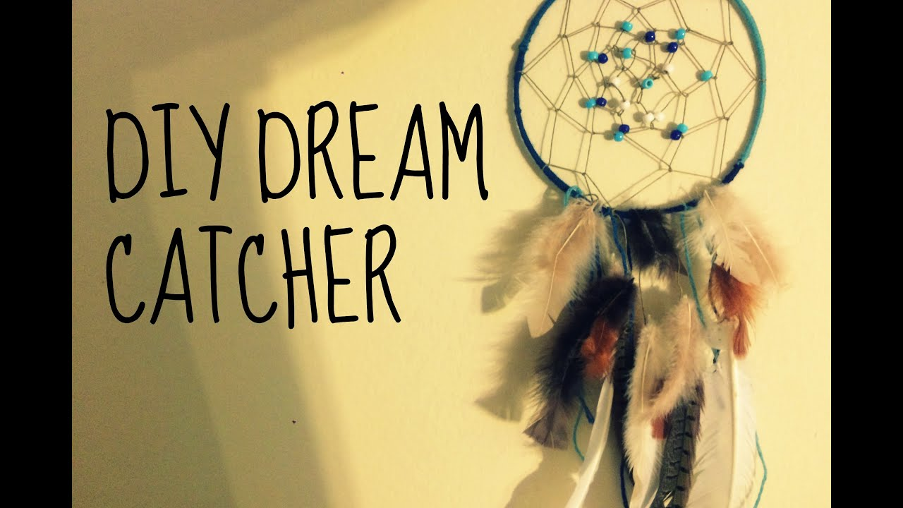 DIY Dream Catcher/ How to make a dreamcatcher at home - YouTube