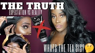 THE TRUTH ABOUT LACE FRONTALS!!!!  THEY LIED TO YOU SIS! ft Ali Julia Hair