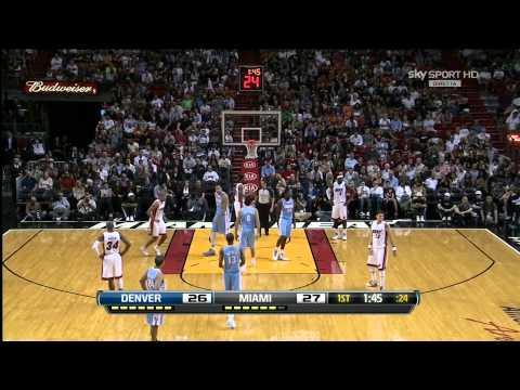 Danilo Gallinari @ Miami Heat / Nov. 3rd, 2012