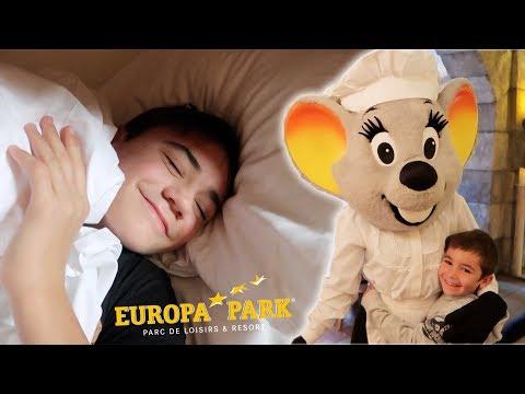 VLOG - MORNING ROUTINE à EUROPA PARK !