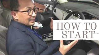 CEO Proton tunjukan cara utk Start Proton X70