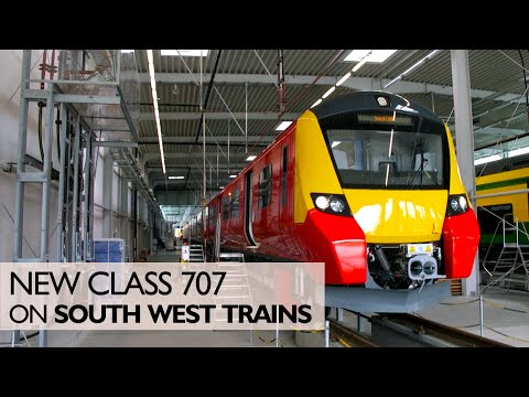 New South West Trains Class 707