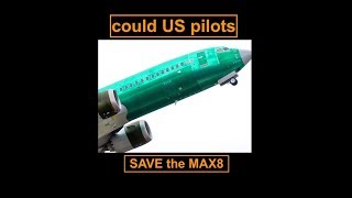 Could US pilots have saved the 737 MAX8 ? - Prof Simon