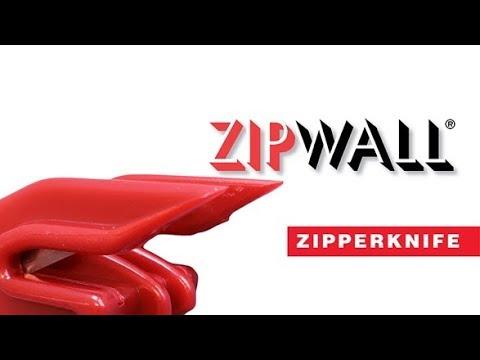 Zipwall Zipperknife Prevent Zipper Jams In Dust Barrier Zipper