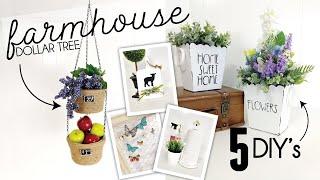 5 Spring Diys | Dollar Tree Spring 2020 | Farmhouse Diys | Friend Friday