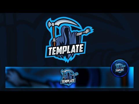 free-gaming/clan-e-sport-mascot-logo-/-banner-/-avatar-+-tutorial