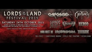 Extreme Noise Terror (UK) - Live at the Audio, Glasgow October 24th, 2015 FULL SHOW HD