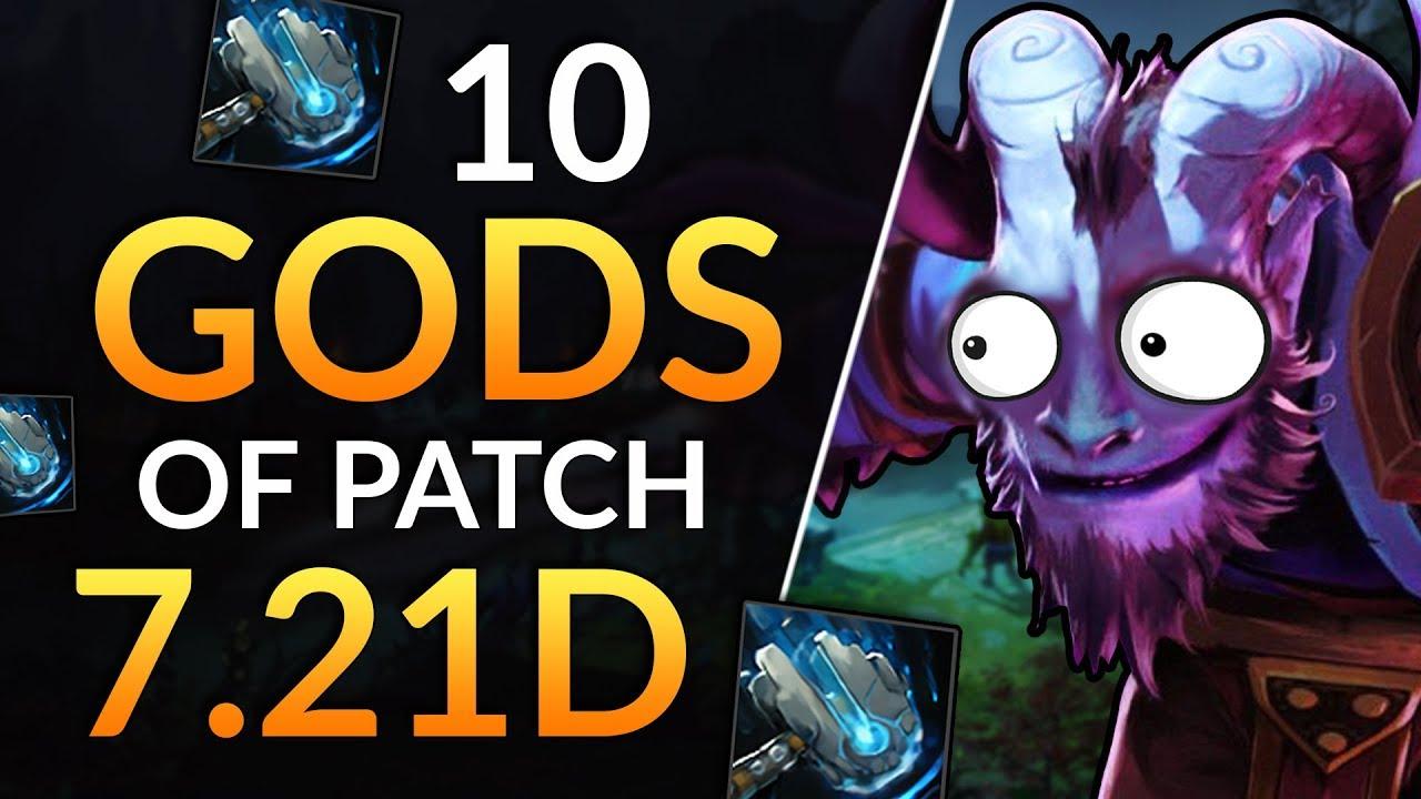 10 Best Heroes In Patch 7 21d Meteor Hammer Broken April 1st Tips Dota 2 Guide Youtube