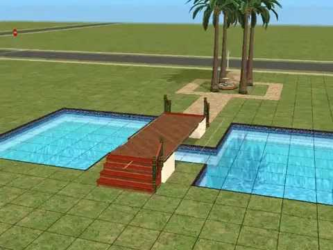 sims2 traumhaus bauen 1 teil1 youtube. Black Bedroom Furniture Sets. Home Design Ideas