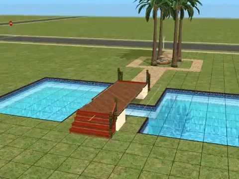 Sims2 traumhaus bauen 1 teil1 youtube for Sims 4 dach bauen