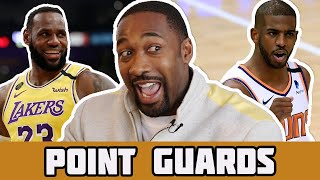 Let's Talk Point Guards   Gilbert Arenas Ranks The Best Point Guards Today & All Time