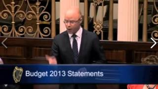 The Property Tax War  Irish budget 2013