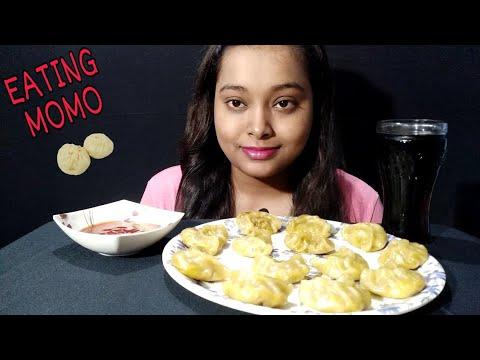 Download VEG MOMO/DUMPLINGS EATING   Indian Mukbang   Eating Show   Street Food Mukbang   Suru Eats