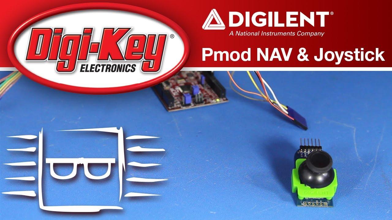Pmod NAV and Joystick Set-up and Development - Another Geek Moment | DigiKey