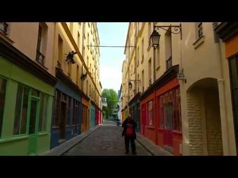 COUR D'ALSACE-LORRAINE Unique Real Paris tour of Hidden Gem in 12th arrondissement