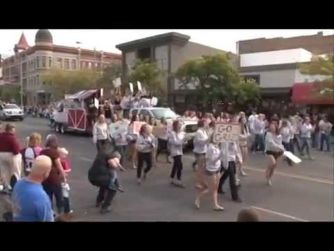 2012 Homecoming Parade University of Montana