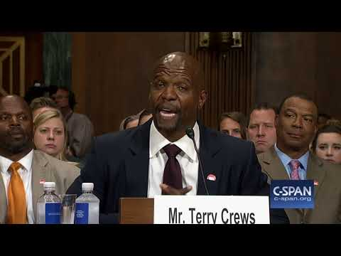 Terry Crews complete  statement CSPAN