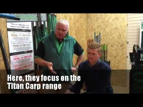 Matt Godfrey talks to Mark Downes about the Titan Carp Poles