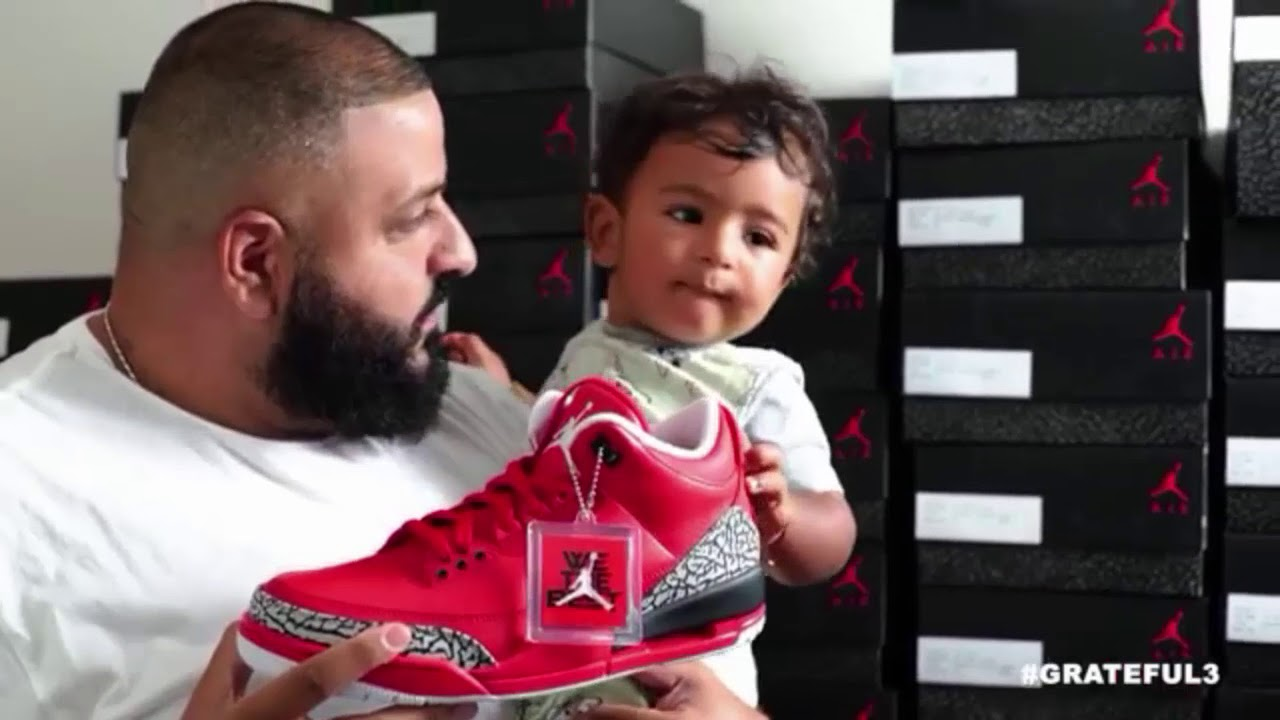 DJ Khaled Gets His Son Very Rare Air Jordan Sneakers