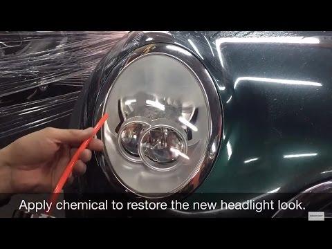 MINI Headlight refurbishment, looks like new again!