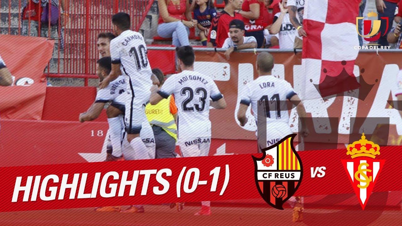 CF Reus Deportiu 0-1 Sporting Gijon