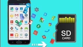 Play Storedeki Uygulamaları SD Karta Yükleme