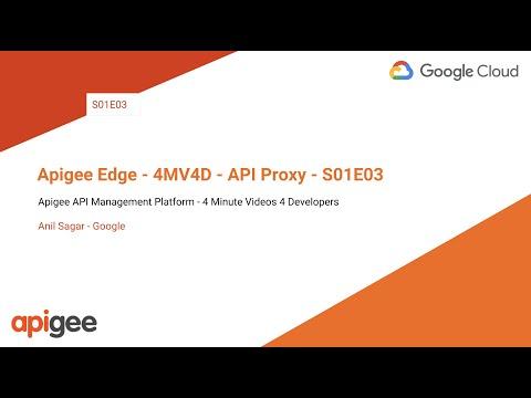 Build a simple API proxy | Apigee Docs