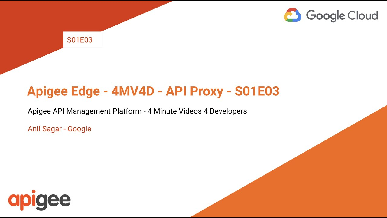 Build a simple API proxy | Apigee Docs