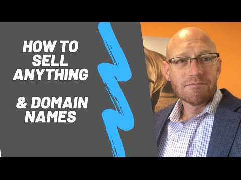 The fundamentals to selling anything – especially domain names.