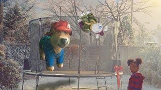Great North Snowdogs - Pawdington Snowdog Construction movie