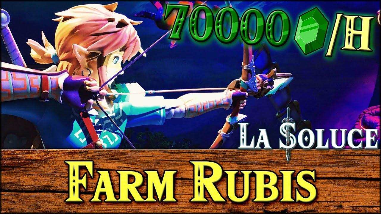 FARM RUBIS 70000+ PAR HEURE - ASTUCE - ZELDA BOTW - YouTube