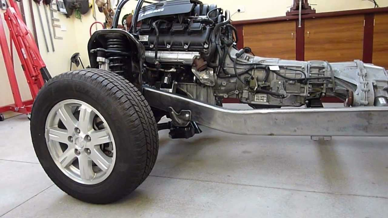 Grandwillys Project 3 First Walk Around Rolling Chassis